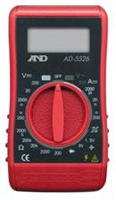 電流・電圧測定に!デジタルテスター:A&DマルチメータAD-5526【郵送可¥250】