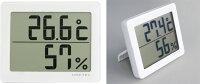 大画面温湿度計O-226ホワイト