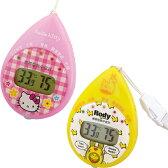 熱中症計:【ハローキティ】温湿度計つき携帯型熱中症計6968【メール便可¥260】