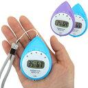 熱中症計:自動計測機能付き携帯型熱中症計「見守りっち」6937パープル【メール便可¥320】