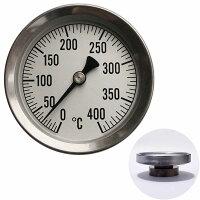 高温温度計:薪ストーブ煙突用温度計(0〜400℃)