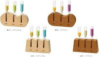 1分・3分・5分計の木製台座の色とカタチ