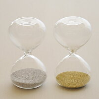 砂時計:シンプルな1分計/2分計のガラス砂時計