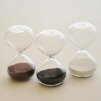 砂時計:シンプルな3分計/4分計のガラス砂時計