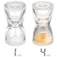 ガラス砂時計