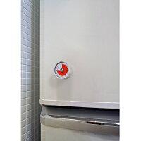 冷蔵庫に設置したダイヤル式アナログタイマー