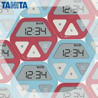 キッチンタイマー:ガラスにつくデジタルタイマーTD-410