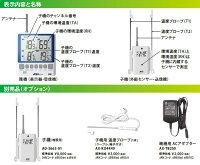 温度計AD-5663の表示と別売りオプション
