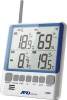 ワイヤレス温湿度計の親機AD-5663の別角度