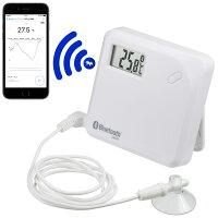 ワイヤレス温度計:スマホでデータ管理できる温度ロガーCT-620BT