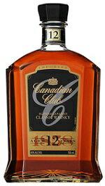 カナディアン クラブ クラシック12年700ml/12本 並行品 e240輸入状況により正規品になる場合があります