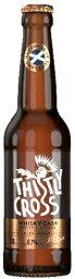 スコットランド シードルシスリークロスサイダー・ウィスキーカスク瓶 330ml/12本.ik