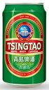 青島ビール(チンタオ) 缶 330ml/24ik