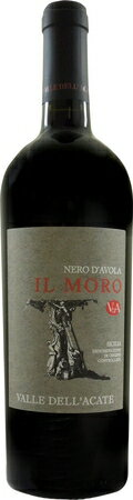 ヴァッレ デラカーテ  イル モロ 2012 赤 750ml/12本VALLE DELL'ACATE IL MORO2504シチリア最高の品種の1つ、ネロダーウ゛ォラのもつ可能性を最大限に引き出したワインです。きめ細かで滑らかな飲み心地が楽しめます。ステンレスタンク発酵、瓶熟9〜12ヶ月
