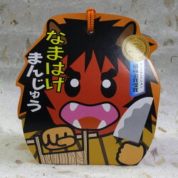 フジタ製菓なまはげまんじゅうキャラクターパッケージ6個入