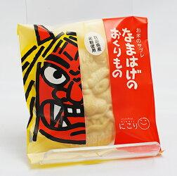 お菓子のにこりなまはげのおくりもの単品大潟村産米粉使用のサブレ