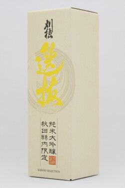 秋田清酒刈穂選抜純米大吟醸720ml