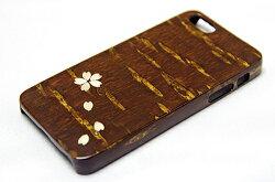 樺細工八柳さくらiPhone「桜」iPhone5・5s用ケース