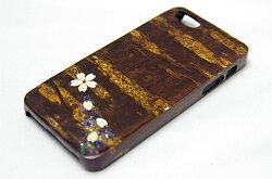 樺細工八柳さくらiPhone「桜ラメ」iPhone5・5s用ケース