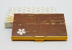 樺細工藤木伝四郎商店カードケース桜