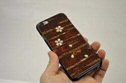 八柳樺細工さくらiPhone「桜」iPhone6・6s用ケース