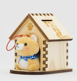 我流慕犬っこハウス貯金箱