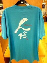 秋田弁Tシャツんだブルー1