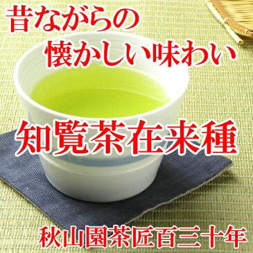 知覧茶在来種 80g 緑茶 煎茶(am-10)(鹿児島茶 緑茶 茶葉 煎茶)(asu-n)