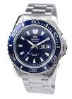 """オリエントORIENT腕時計自動巻き""""MAKOXL""""マコ海外モデル200M防水ネイビーFEM75002DWメンズ[並行輸入品]"""