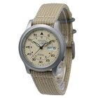[セイコー]SEIKO5腕時計海外モデル自動巻きミリタリーベージュSNK803K2メンズ[逆輸入品]