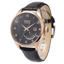セイコー SEIKO 腕時計 海外モデル KINETIC キネティック レトログラード ブラック/ゴールド SRN054P1 メンズ [逆輸入品]