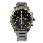 セイコーSEIKO腕時計ソーラーSOLARクロノグラフ100M防水日本製ムーブメント海外モデルブラックSSC723P1メンズ[逆輸入品]