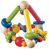 トライアングル(木製玩具)【GogoToys】