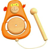 「知育玩具」(木のおもちゃ)I'mTOY「どうぶつ音楽会モンキー」