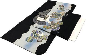 七五三 着物 男児3歳用セット 正絹 新品73d384