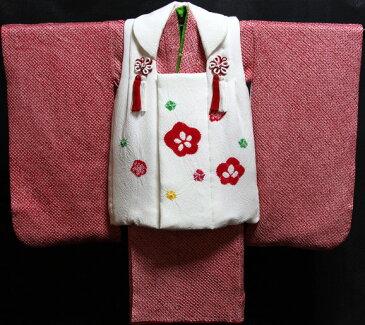 七五三着物 女児三歳用セット 正絹 新品73j439
