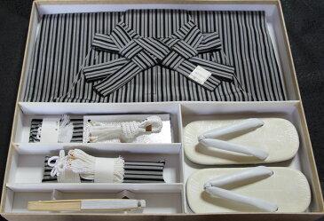 七五三、五歳男児用 正絹 縞 袴セット 新品hkm1115