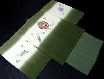 七五三着物 男児五歳用セット 正絹 新品75d9714