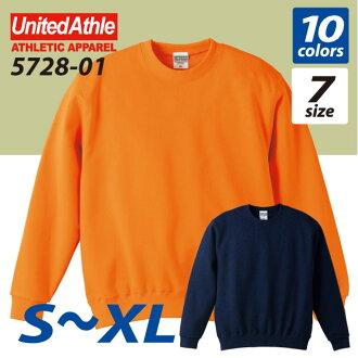 10.0 Oz crew neck sweatshirts (pile) athle UNITED ATHLE #5728-01.