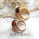 【天然琥珀】ゴールド・ピンクゴールドリング【送料無料】【Sランク】【ak0416】amber gold pinkgold...