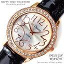 送料無料 999円 かわいい 腕時計 レディース おしゃれ 女性 ラウンドフェイス クロコ型押し ブラック 黒【あす楽対応】【tvs302】[0003]