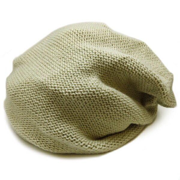 春夏小顔効果抜群のサマーニット帽が899円キャスケットメンズレディースニットキャップ帽子ベージュコットン kami102  あす