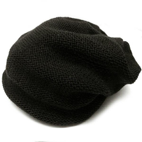チャコール 帽子ニット帽メンズ あす楽 ファッションアクセONE男性用プレゼントギフトニットキャップおしゃれ kami106