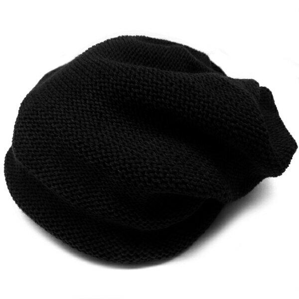 ブラック 帽子ニット帽レディース あす楽 アクセONE女性用プレゼントギフトニットキャップおしゃれアクセONE女性用プレゼント