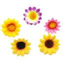 アクセソワールで買える「【造花・夏・ひまわり】プチヒマワリ(花だけ) / 向日葵 / ディスプレイ・アレンジ・アートフラワー   990059」の画像です。価格は20円になります。