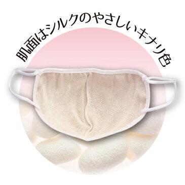 潤いシルクの超大判立体マスク 【絹/保湿/潤い/おやすみマスク/大きめ/喉/睡眠】