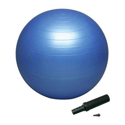 バランスボール セイフティー55 ポンプ付DB55Pブルー 55cm バランスボール