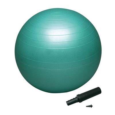 送料無料 バランスボール セイフティー65 ポンプ付DB65Pグリーン 65cm バランスボール