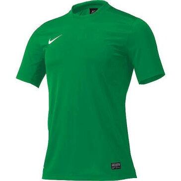 背番号付き NIKE ナイキ ゲームシャツ 743362 302 グリーン サッカーシャツ チーム 練習着 フットサル プラクティスシャツ プラシャツ