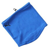 送料無料 PUMA プーマ ネックウォーマー マフラー サッカー フットサル 052820 ブルー サイズ Fフリー